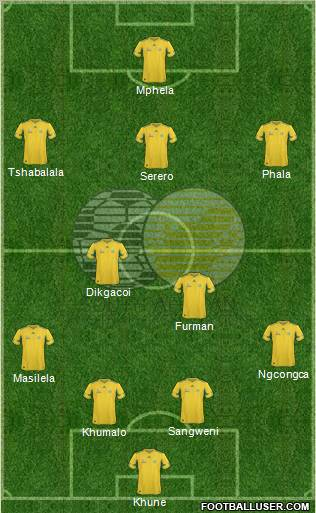 South Africa's Probable XI.