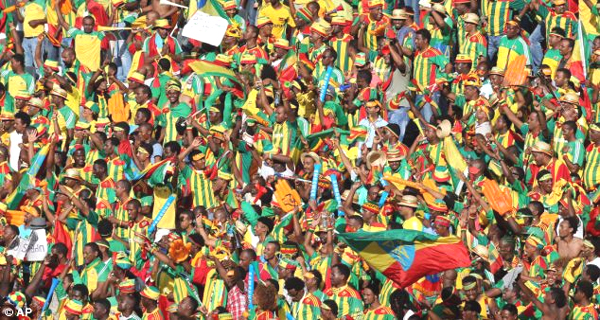 Ethiopian football fans are making a reputation for themselves in Africa.