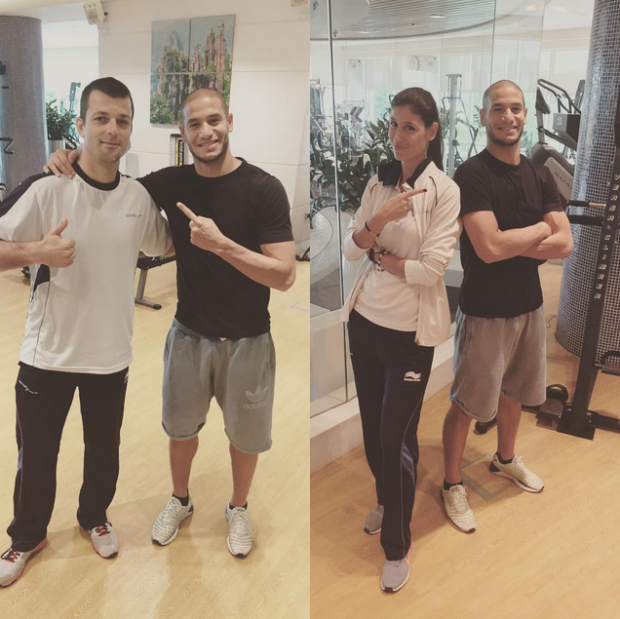 Adlene Guedioura is currently undergoing pre-season preparation at Aspetar Clinic in Qatar during Ramadan