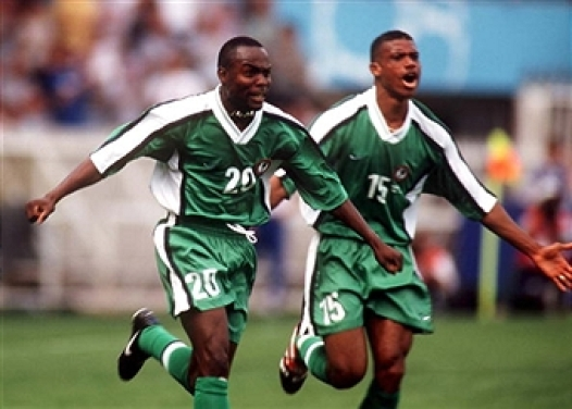 SFGAfcon20 – Victor Ikpeba v Tunisia, 2000 – Sandals For Goalposts